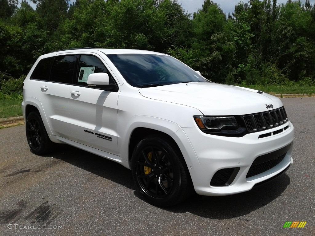 Bright White 2018 Jeep Grand Cherokee Trackhawk 4x4 ...