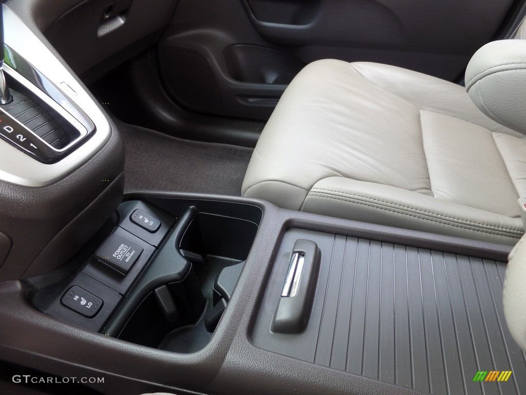 2014 CR-V EX-L AWD - Mountain Air Metallic / Beige photo #19