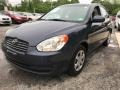 Charcoal Gray 2010 Hyundai Accent GLS 4 Door