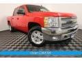 2013 Victory Red Chevrolet Silverado 1500 LT Crew Cab 4x4 #127418331