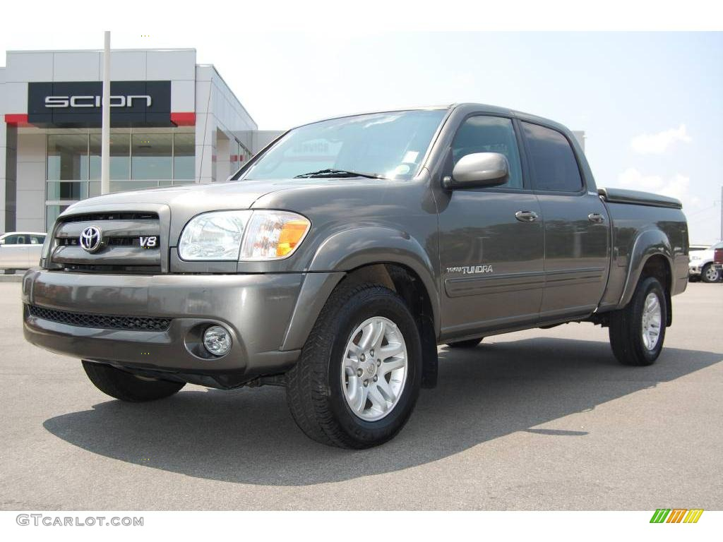 2005 phantom gray pearl toyota tundra limited double cab 12728302 car color. Black Bedroom Furniture Sets. Home Design Ideas