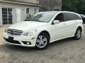 Arctic White 2008 Mercedes-Benz R 350 4Matic