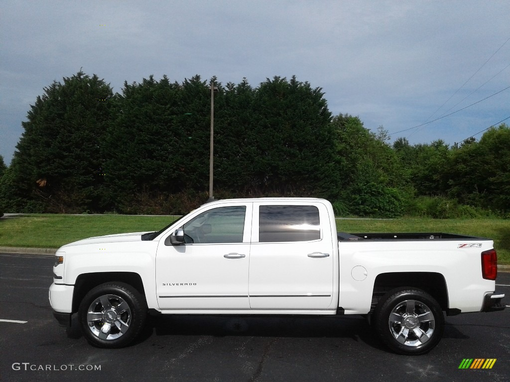 2016 Silverado 1500 LTZ Crew Cab 4x4 - Summit White / Cocoa/Dune photo #1