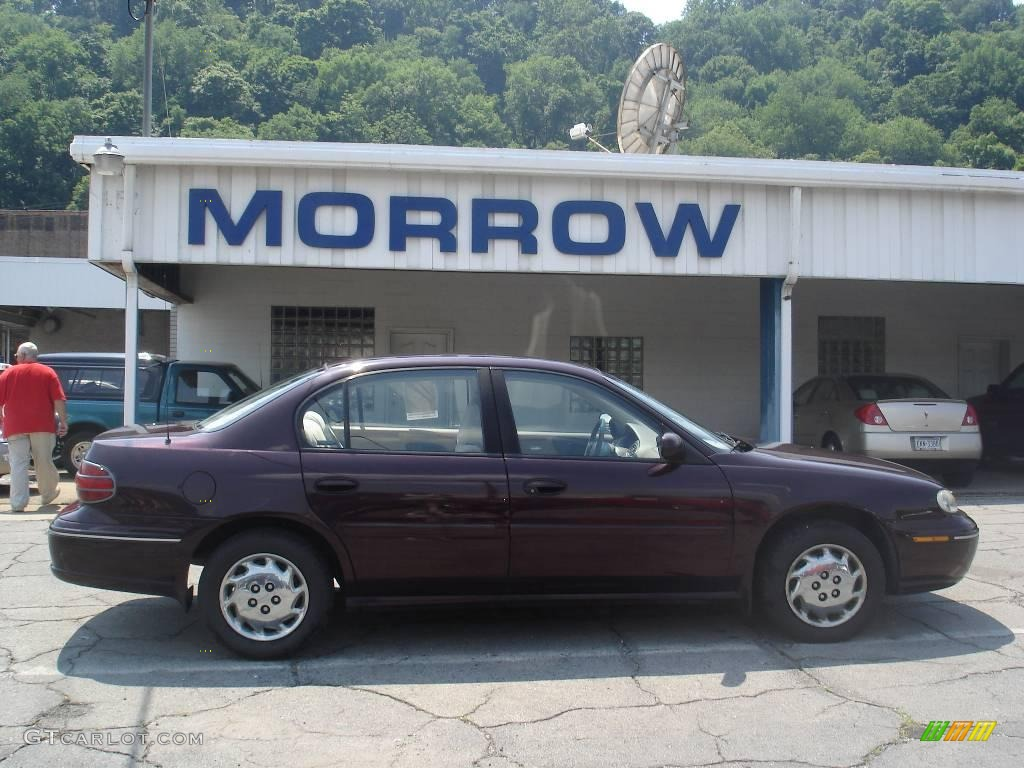 1999 dark cherry metallic oldsmobile cutlass gl 12718970 gtcarlot com car color galleries gtcarlot com