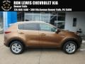 Burnished Copper 2018 Kia Sportage LX AWD
