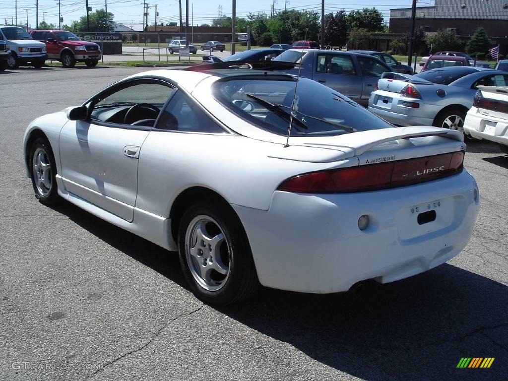 1999 Eclipse Gs Coupe Northstar White Gray Photo 8