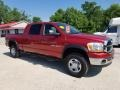 2006 Flame Red Dodge Ram 1500 SLT Mega Cab 4x4  photo #7