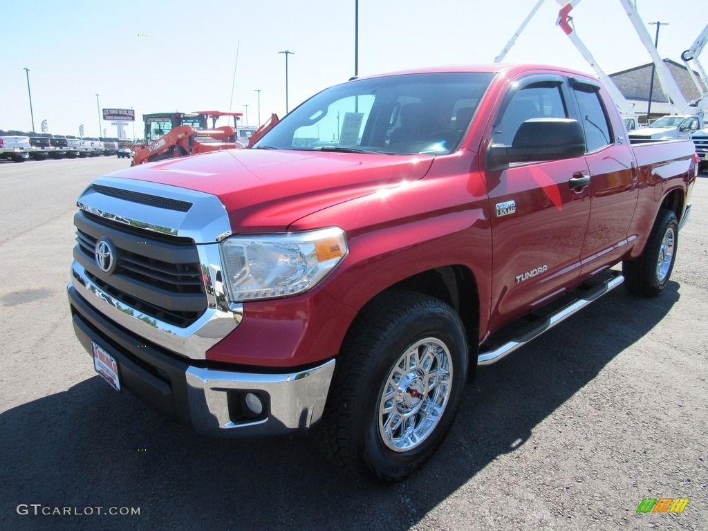 2014 Tundra SR5 Double Cab - Radiant Red / Graphite photo #1