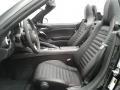 2018 124 Spider Abarth Roadster Nero Black Interior
