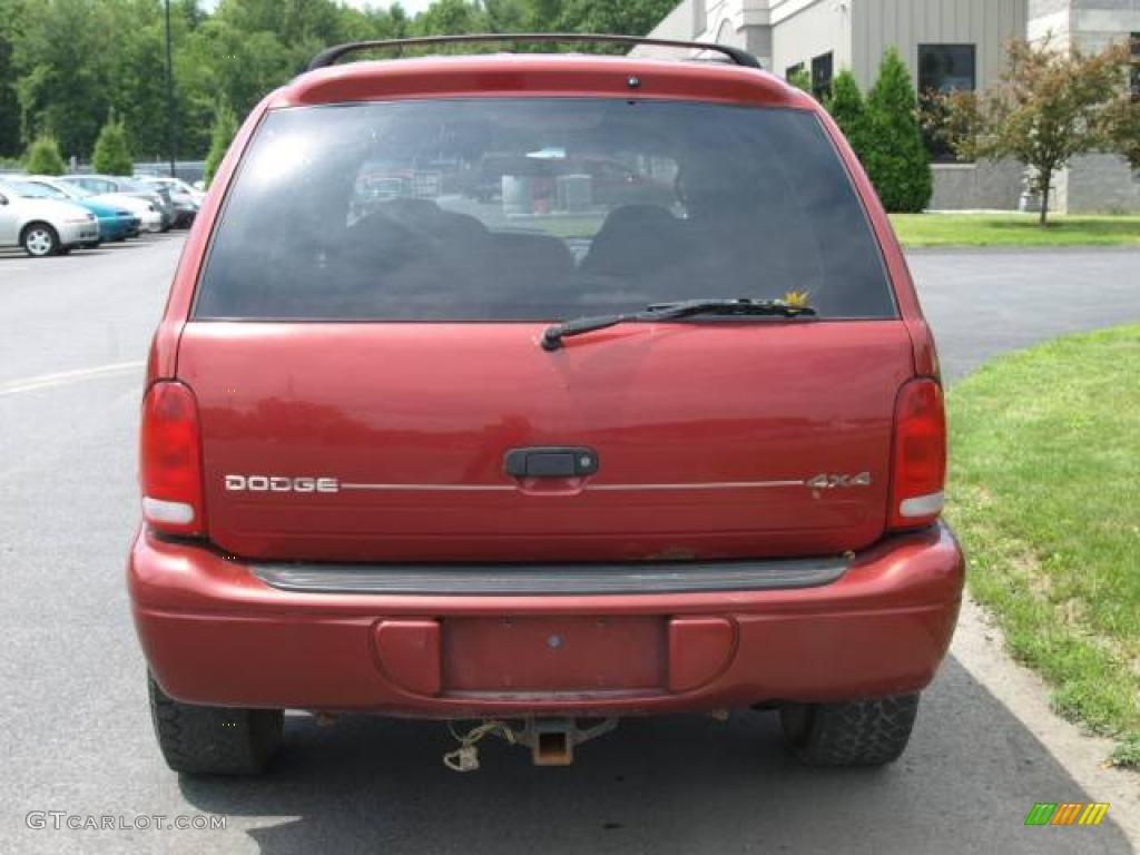 1999 chili pepper red pearlcoat dodge durango slt 4x4 12727940 photo 5 car. Black Bedroom Furniture Sets. Home Design Ideas