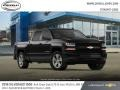 2018 Black Chevrolet Silverado 1500 Custom Crew Cab 4x4  photo #4