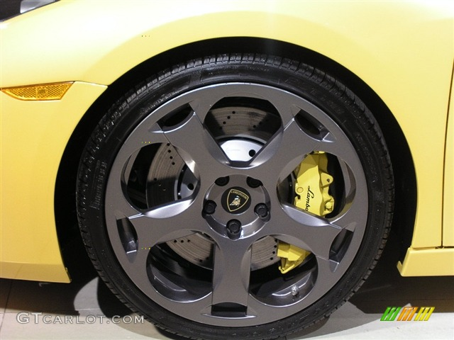 2006 Lamborghini Gallardo Coupe Lamborghini Titanium Wheels With