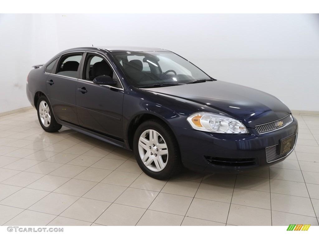 2012 Imperial Blue Metallic Chevrolet Impala Lt 127548078 Gtcarlot Com Car Color Galleries