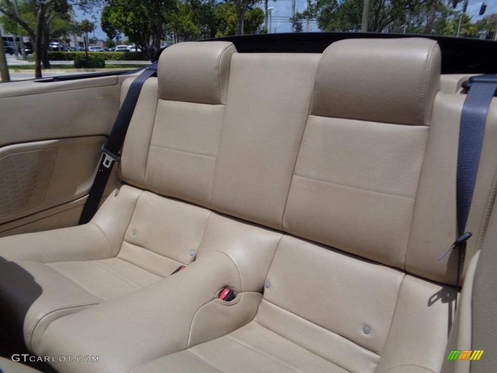 2007 Mustang V6 Premium Convertible - Performance White / Medium Parchment photo #4