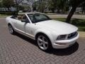2007 Performance White Ford Mustang V6 Premium Convertible  photo #9