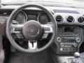2018 Ford Mustang Ebony Interior Dashboard Photo