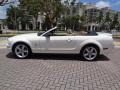 2007 Performance White Ford Mustang V6 Premium Convertible  photo #32