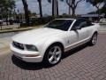 2007 Performance White Ford Mustang V6 Premium Convertible  photo #34