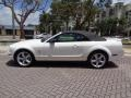 2007 Performance White Ford Mustang V6 Premium Convertible  photo #36