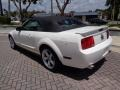 2007 Performance White Ford Mustang V6 Premium Convertible  photo #38