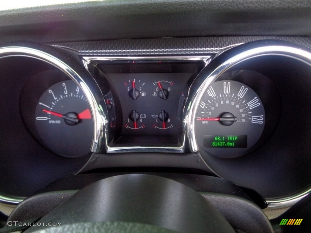 2007 Mustang V6 Premium Convertible - Performance White / Medium Parchment photo #39