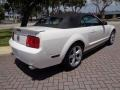 2007 Performance White Ford Mustang V6 Premium Convertible  photo #42