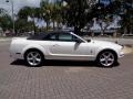 2007 Performance White Ford Mustang V6 Premium Convertible  photo #44