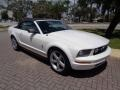 2007 Performance White Ford Mustang V6 Premium Convertible  photo #46
