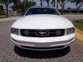2007 Performance White Ford Mustang V6 Premium Convertible  photo #48