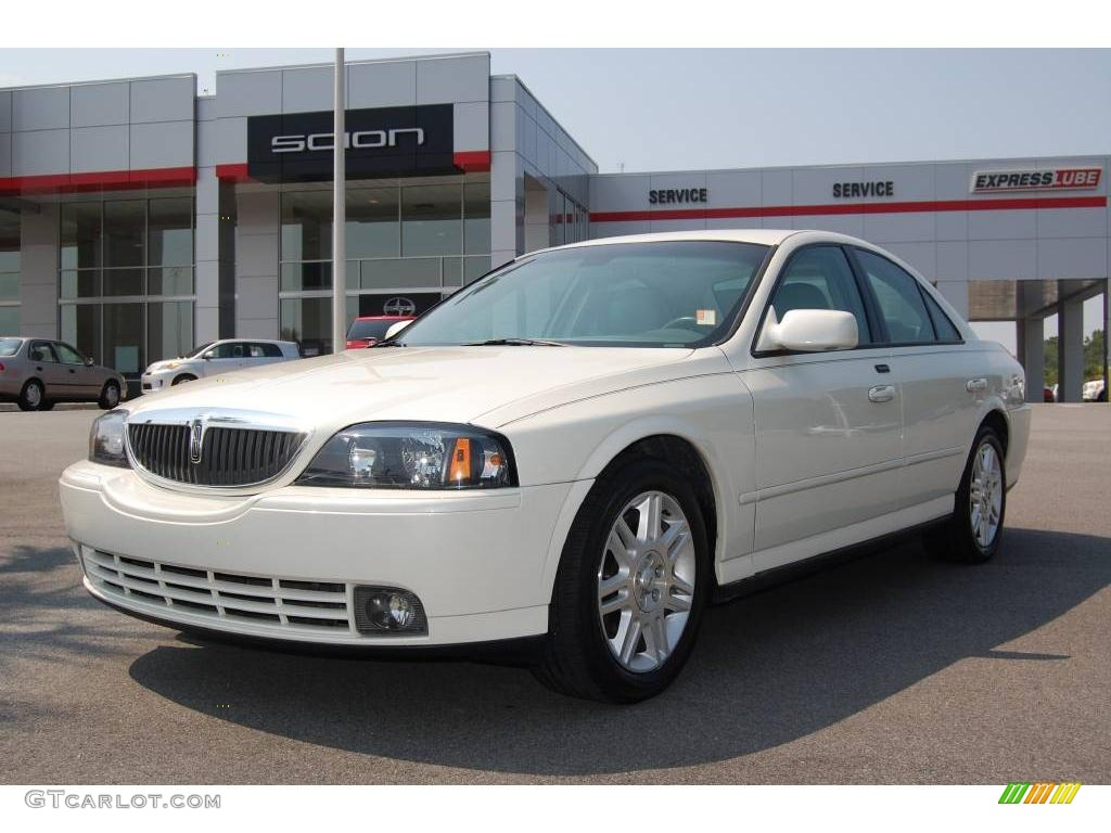 2005 Lincoln Ls V8 >> 2005 Ceramic White Pearlescent Lincoln Ls V8 12728273