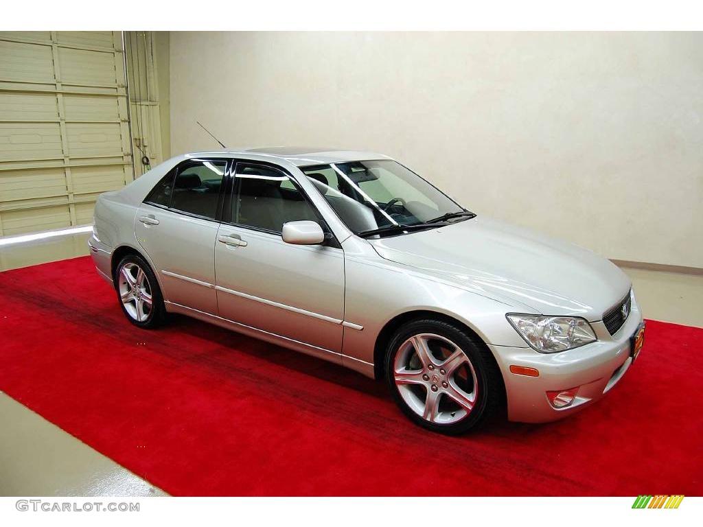 2002 Millennium Silver Metallic Lexus Is 300 12720950