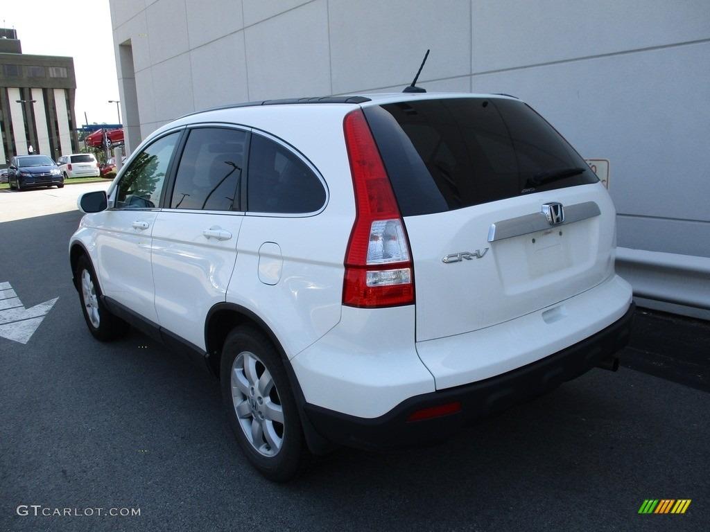 2008 CR-V EX-L 4WD - Taffeta White / Gray photo #3