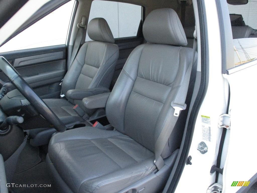 2008 CR-V EX-L 4WD - Taffeta White / Gray photo #11