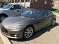 2016 Model S 90D Titanium Metallic