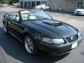 2002 Black Ford Mustang GT Convertible  photo #3