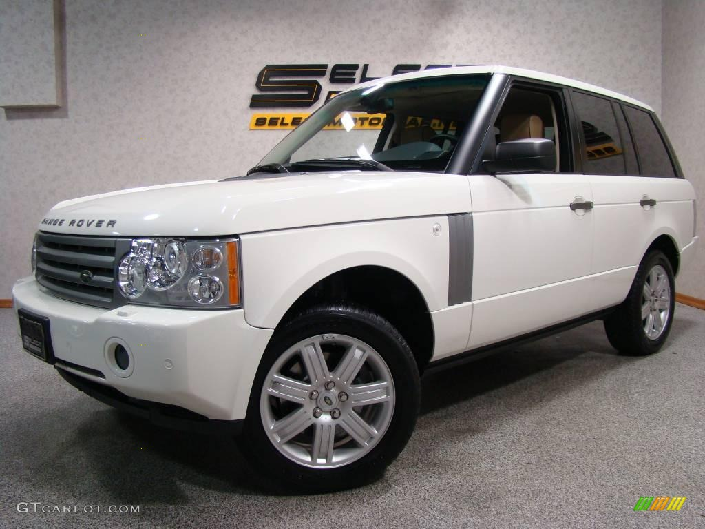 2007 Range Rover HSE - Chawton White / Sand/Jet photo #1