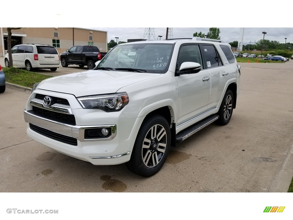 2018 Blizzard White Pearl Toyota 4runner Limited 4x4 127650228 Car Color Galleries