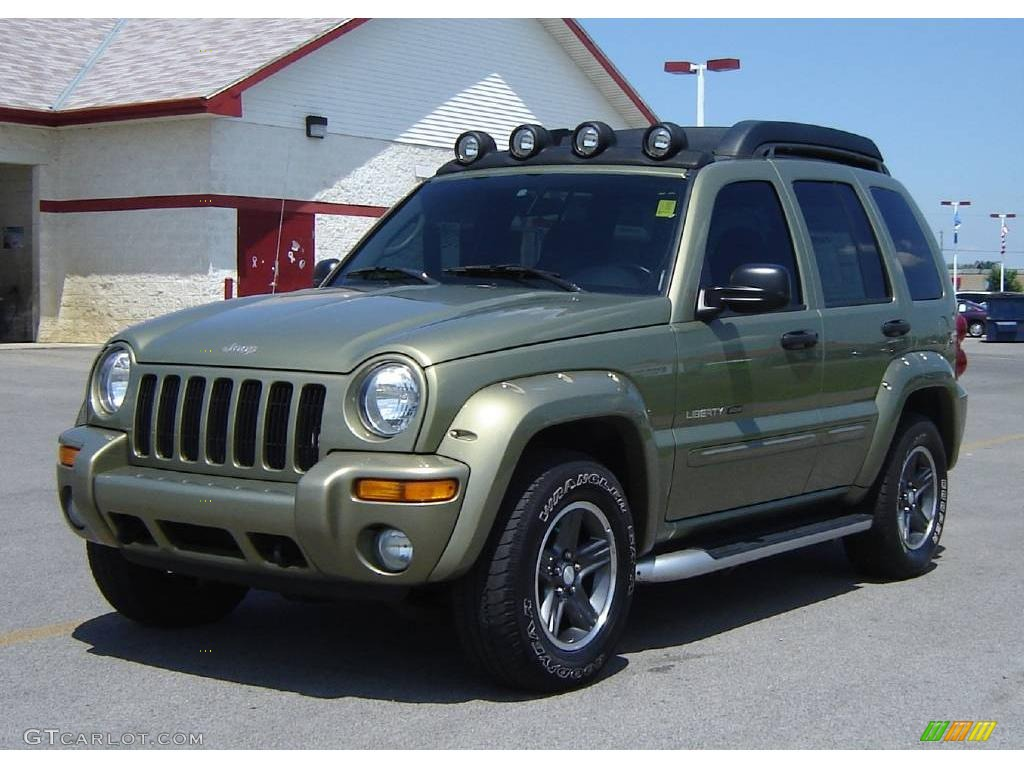 2003 cactus green pearl jeep liberty renegade 4x4. Black Bedroom Furniture Sets. Home Design Ideas