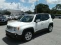 2018 Alpine White Jeep Renegade Limited  photo #1
