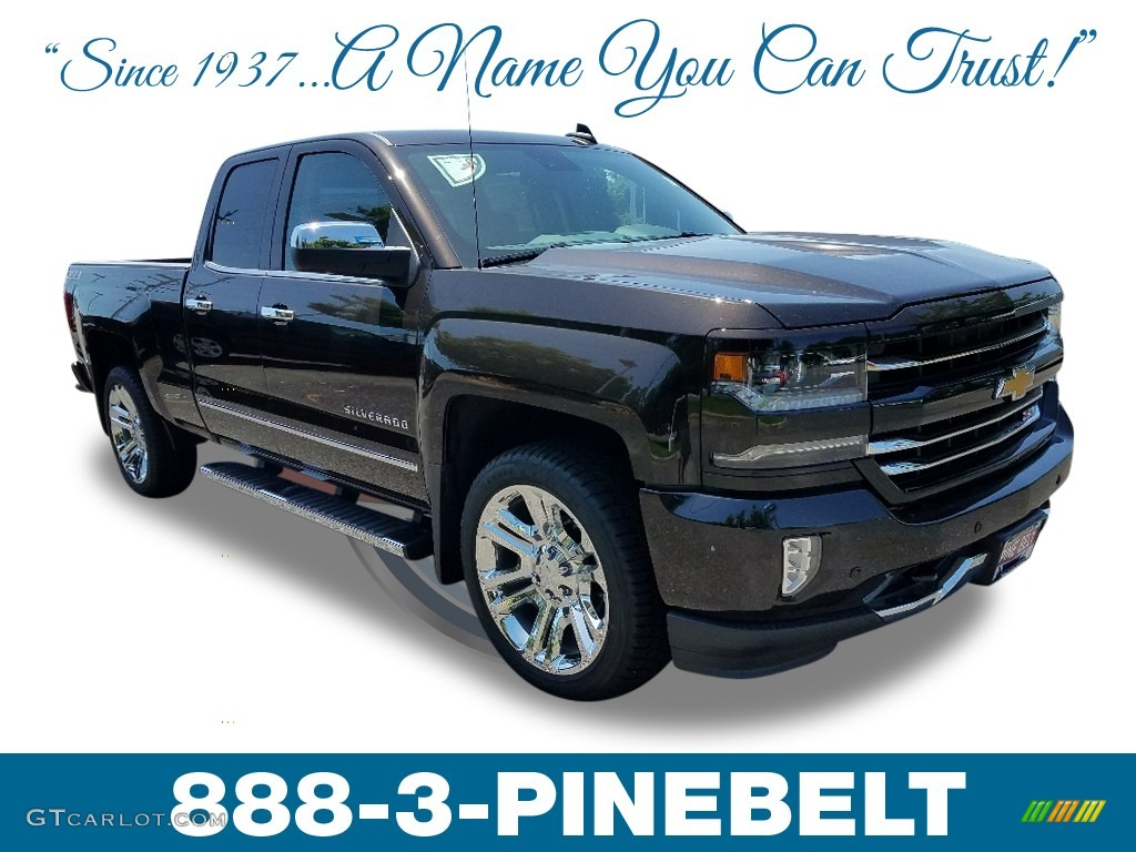 2018 Silverado 1500 LTZ Double Cab 4x4 - Havana Metallic / Jet Black photo #1
