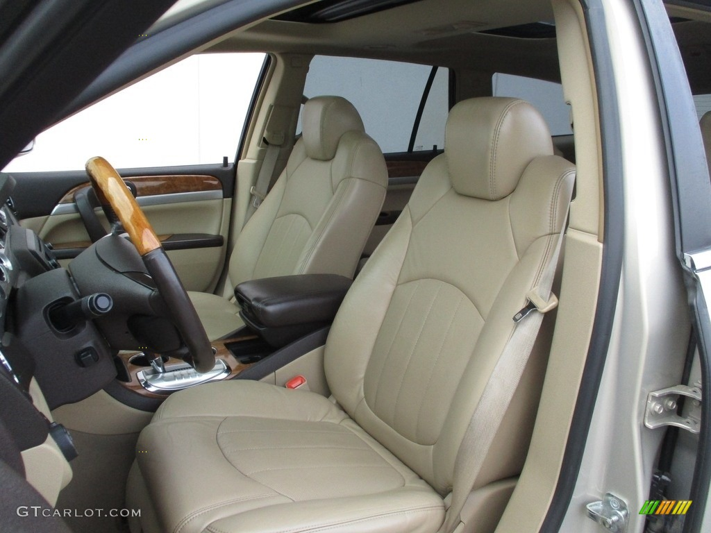 2008 Enclave CXL AWD - Gold Mist Metallic / Cashmere/Cocoa photo #12