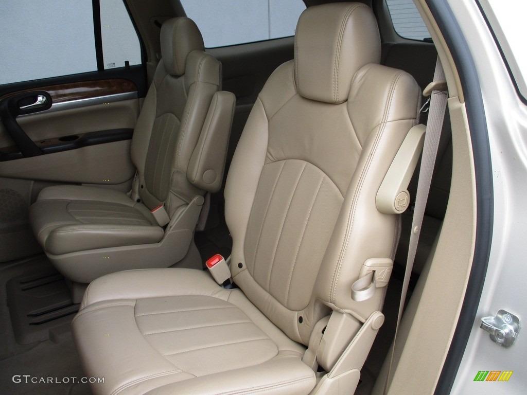 2008 Enclave CXL AWD - Gold Mist Metallic / Cashmere/Cocoa photo #13