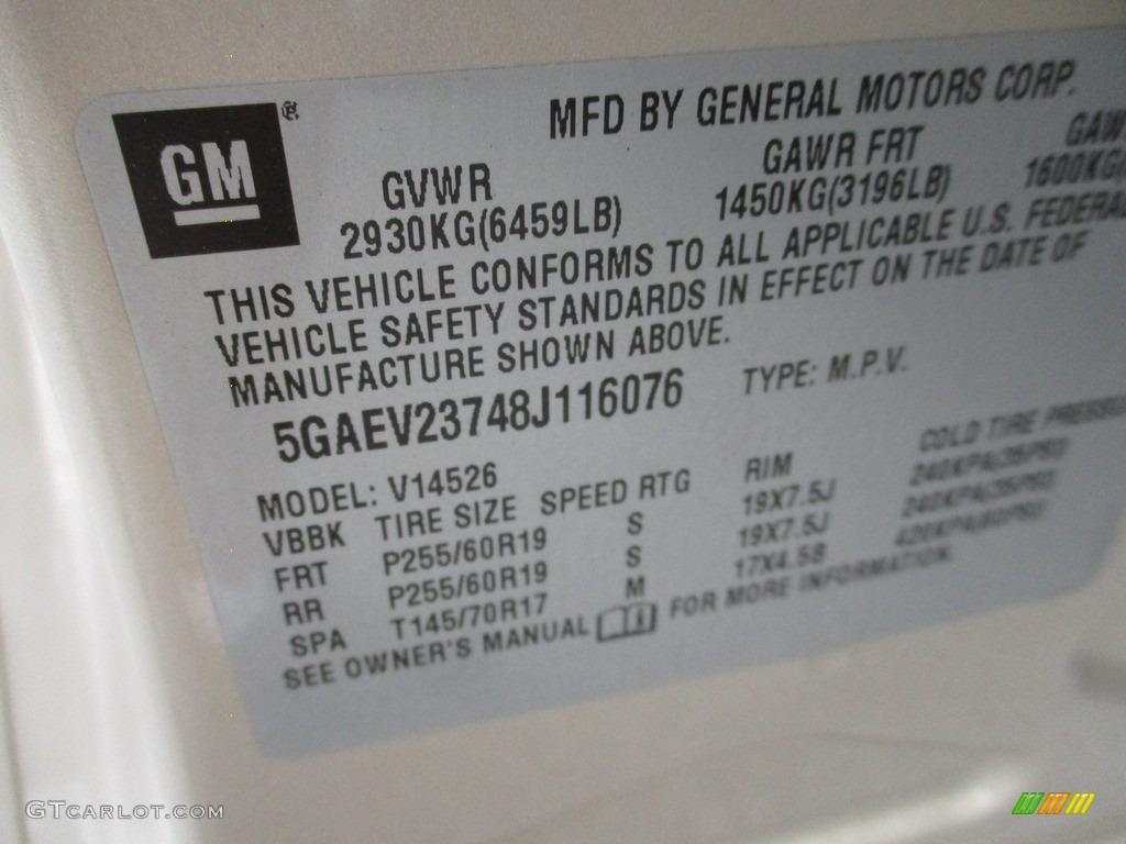 2008 Enclave CXL AWD - Gold Mist Metallic / Cashmere/Cocoa photo #19