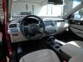 2019 Sorento LX AWD Stone Beige Interior