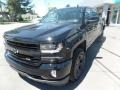 2018 Black Chevrolet Silverado 1500 LTZ Crew Cab 4x4  photo #3