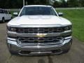 2018 Summit White Chevrolet Silverado 1500 LTZ Double Cab 4x4  photo #9