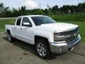 2018 Summit White Chevrolet Silverado 1500 LTZ Double Cab 4x4  photo #10