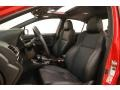 Carbon Black Front Seat Photo for 2018 Subaru WRX #127699335