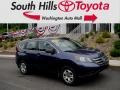 2012 Twilight Blue Metallic Honda CR-V LX 4WD #127689110