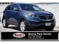 Twilight Blue 2013 Kia Sportage LX